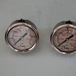 high pressure gauge 60 - 400 bar for Sandretto